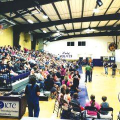 Heavener holds revival in school gym