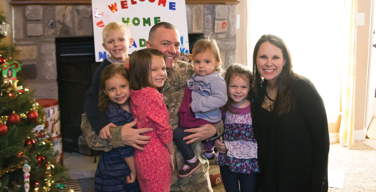 Inola pastor, National Guard chaplain home for the holidays