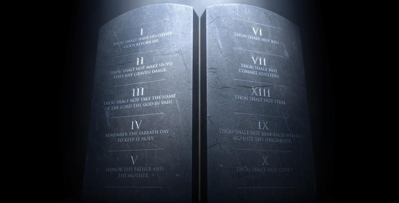 Rite of passage: 'Th'ain't commandments