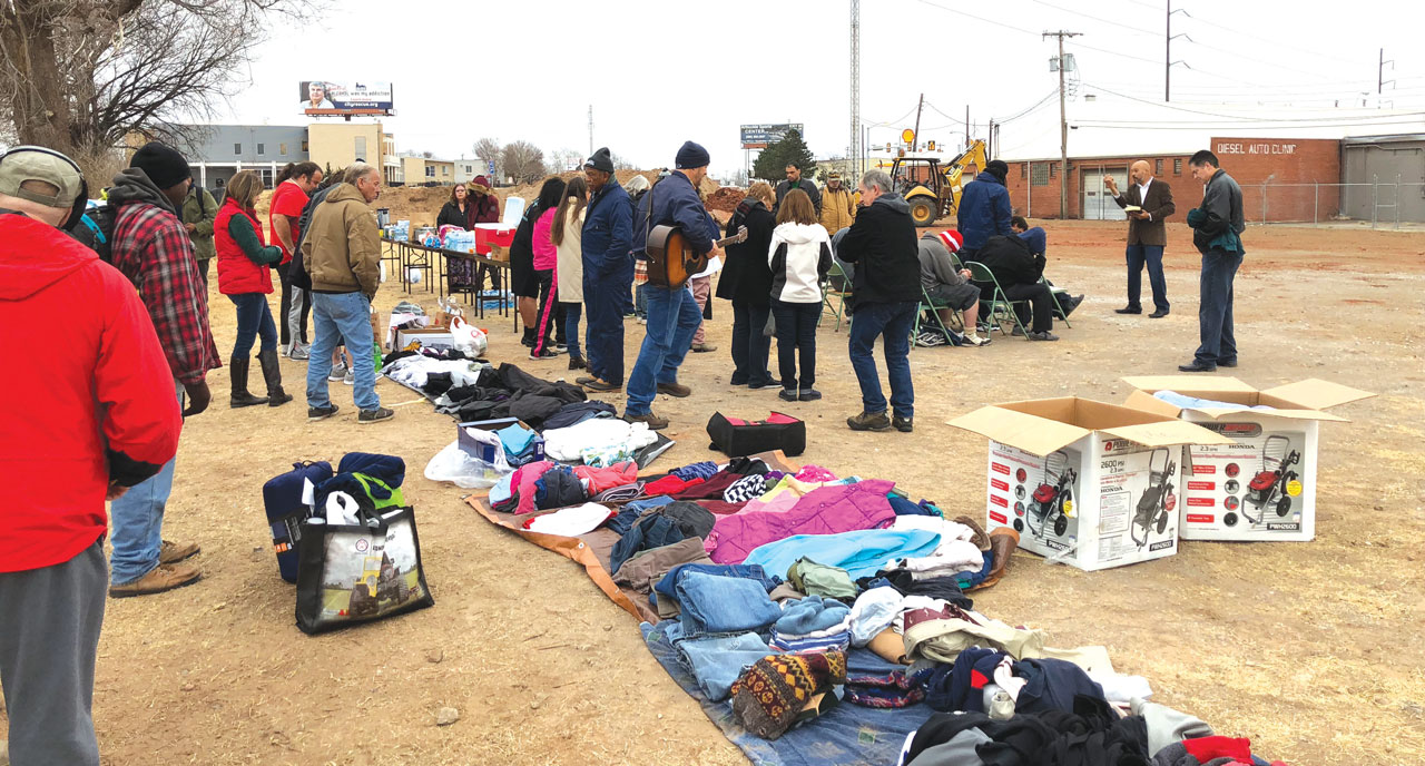 Oklahoma City, Trinity reaches out to the homeless