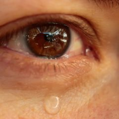 Multiply: A tear from a glass eye