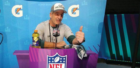Super Bowl: Eagles coach embraces unique resume
