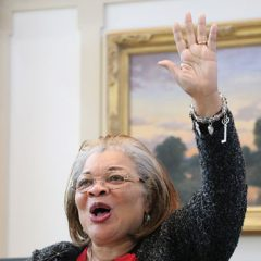 King advocates for unborn: Alveda King inspires thousands at 27th Annual Rose Day rally