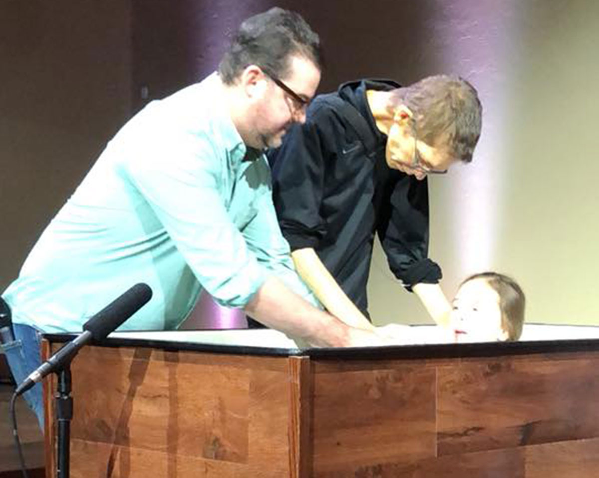 'Worshiping Jesus,' Shane Hall defies cancer's toll