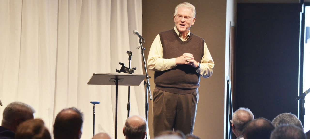 Jordan's 'final charge' highlights Priority of Preaching Conf.