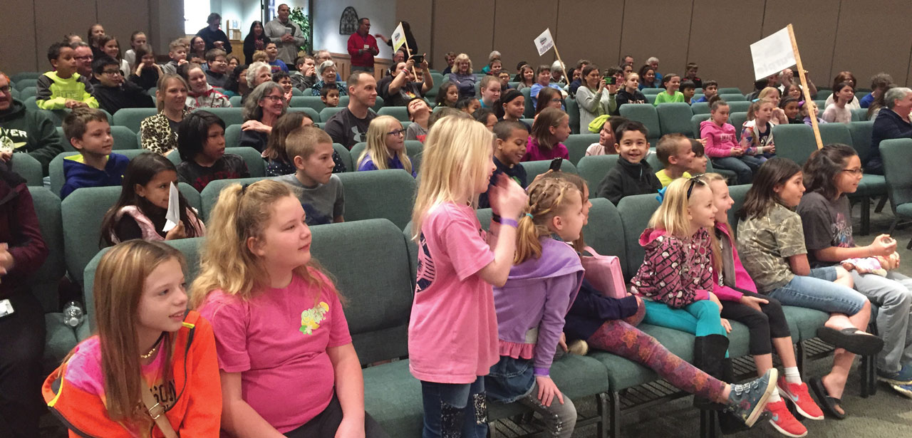 Missions & ministry: All-Star children shine at Mission Ignition