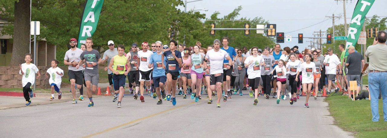 Bethany, Council Road hosts Easter Run, supports girls program