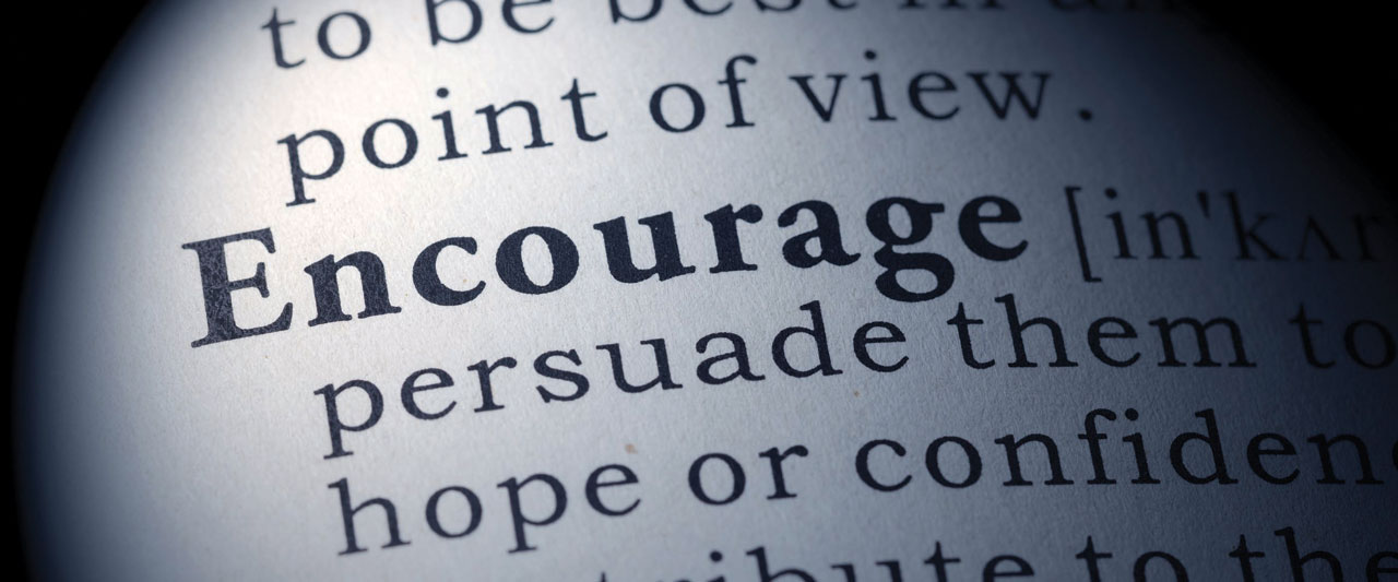 Encourage: Understanding 'encourage'