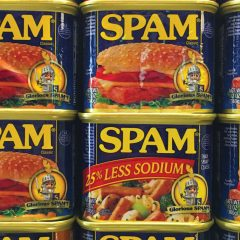 Rite of passage: Spam alert