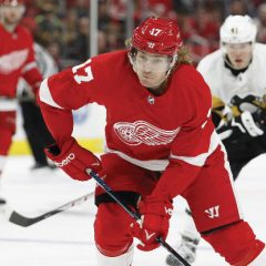 Detroit Red Wings' David Booth knows God is in control