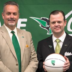 OBU names Eaker new men's basketball coach