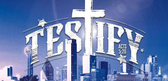 SBC 2018 Dallas theme: 'Testify! Go. Stand. Speak'