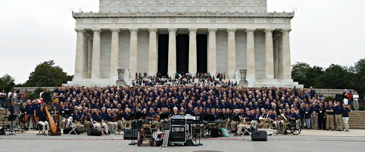 Worship groups go to Washington