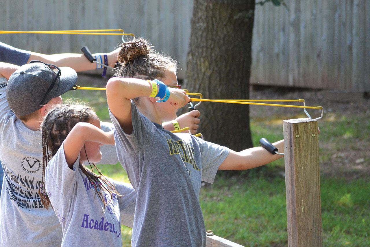 On target: CrossTimbers campers making spiritual decisions across camp