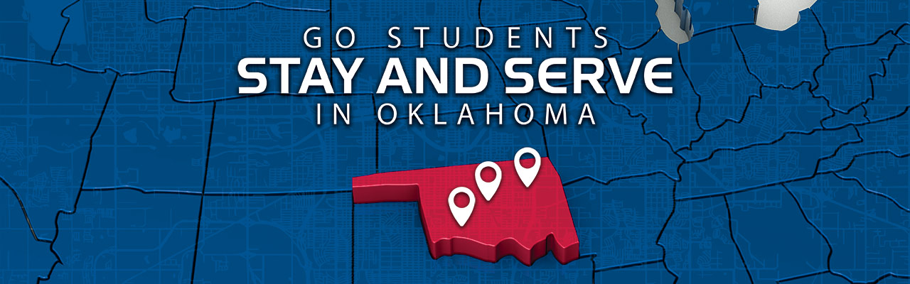 GoStudents stay and serve in Oklahoma
