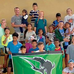 Members of OBU Cross Country Team Serve Ecuador