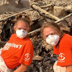 OBU women's soccer serves CA after wildfires