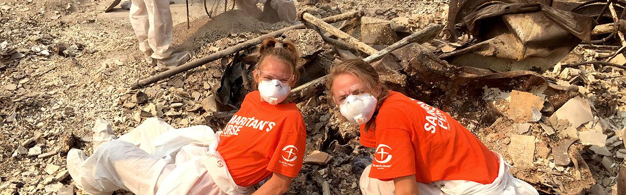 OBU women's soccer serves CA after wildfires