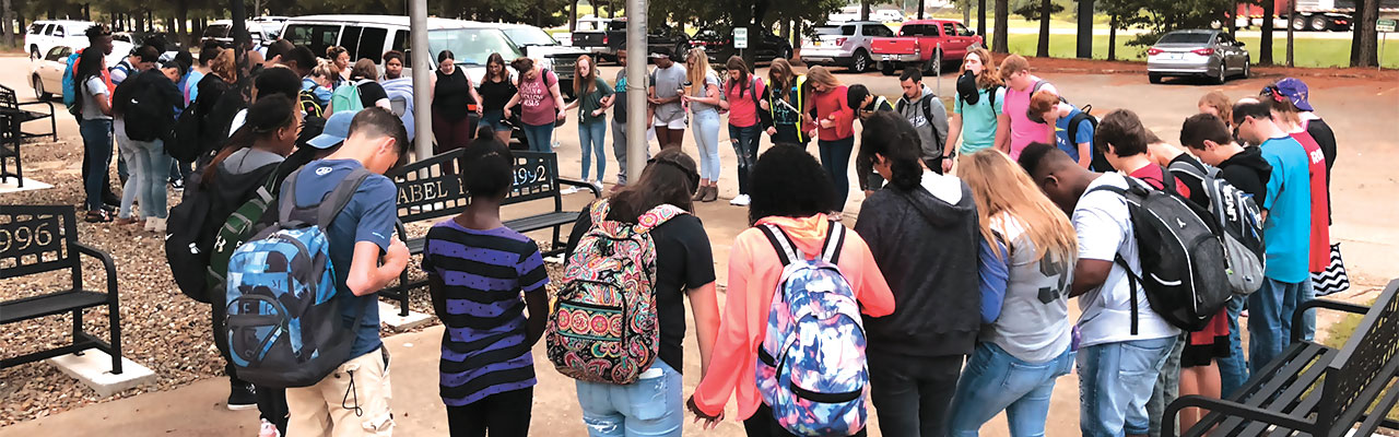 See You At The Pole: Students observe 'Global Week of Prayer'