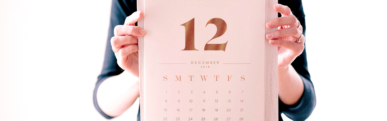 Conventional Thinking:  Christmas & calendar confusion