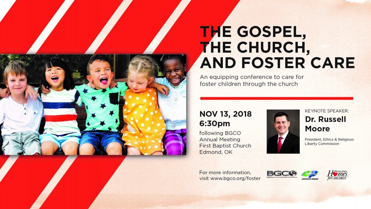 Oklahoma Baptists to hold major event in November focused on foster care crisis