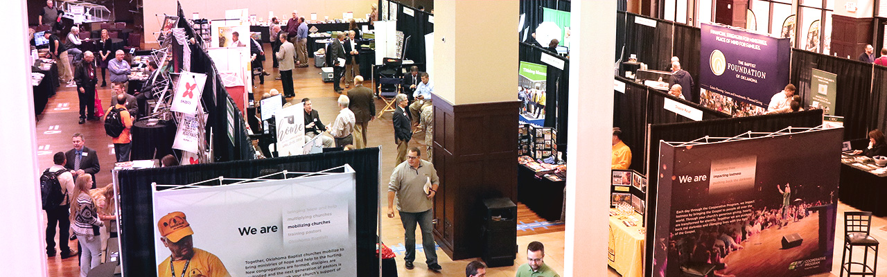 Annual Meeting exhibit hall to highlight Oklahoma & National ministries, organizations