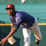 Former OBU pitcher, Hearn, named to Rangers' 40-man roster