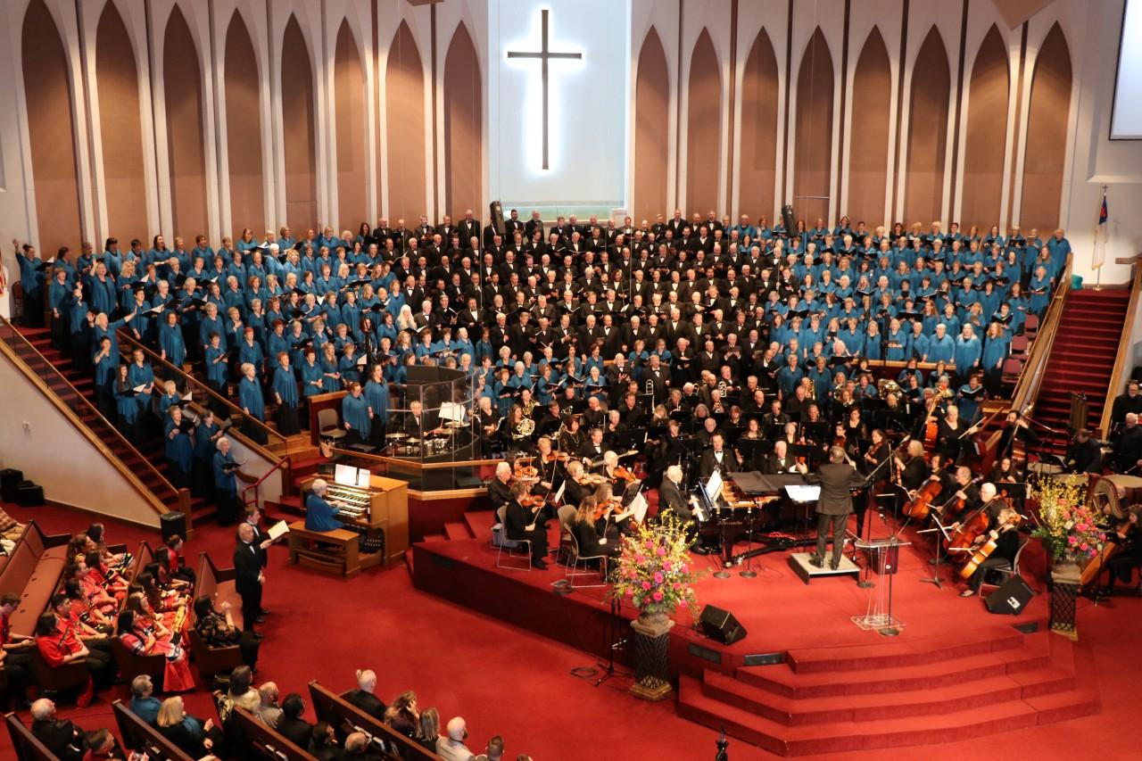 Singing Churchmen, ChurchWomen and Oklahoma Baptist Symphony perform at Governor's prayer service - Baptist Messenger of Oklahoma