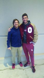 OU track captain changes life goals, leads Bible study - Baptist Messenger of Oklahoma