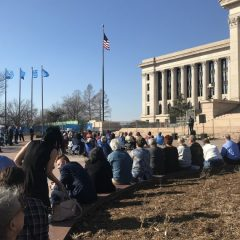 Oklahoma Baptist leaders participate in Capitol prayer gathering