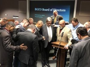 BGCO board unanimously approves Ligon as new senior associate executive director - Baptist Messenger of Oklahoma 1