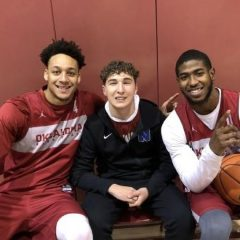 OU Basketball honors Caleb Freeman as sixth man