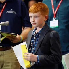 10-year-old advances SBC ministry day