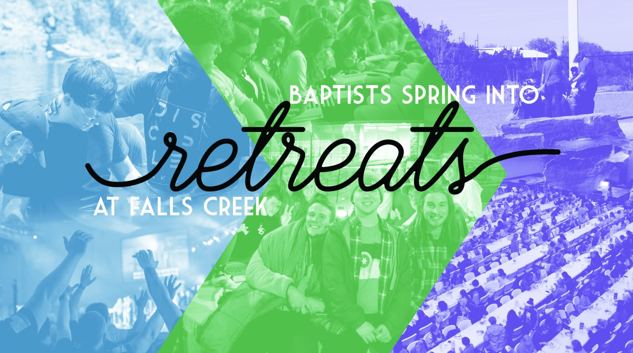 Baptists spring into retreats at Falls Creek
