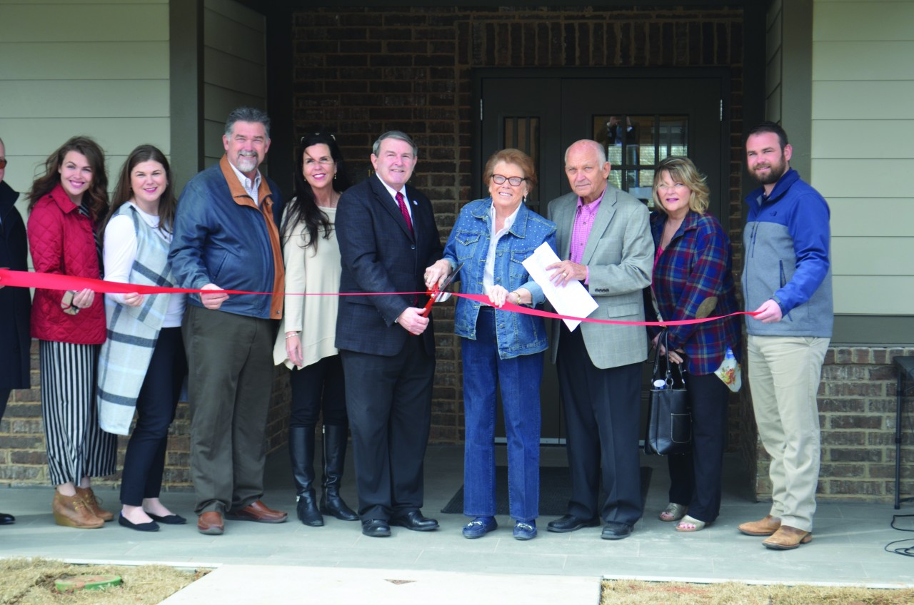 BVC dedicates Thompson Family Neighborhood to God