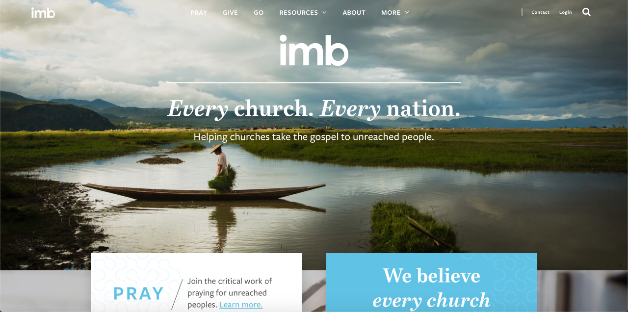 IMB website to better serve Southern Baptists