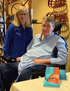 Undaunted by ALS, he writes novels for millennials - Baptist Messenger of Oklahoma 1