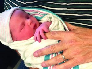 Rite of passage: Welcome, River Walker Moore - Baptist Messenger of Oklahoma 1
