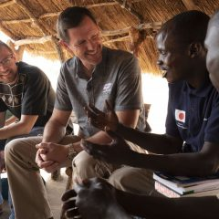 IMB's Chitwood encourages refugees, missionaries