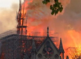 Notre Dame Cathedral fire spurs 'rightful mourning'
