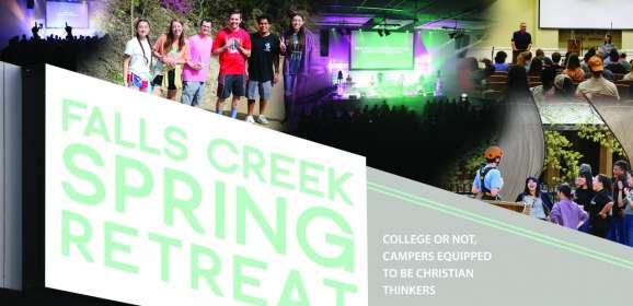 Falls Creek Spring Retreat: College or not, campers equipped to be Christian thinkers