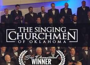 Singing Churchmen promo wins 'Best promotional film' at Christian Film Festival