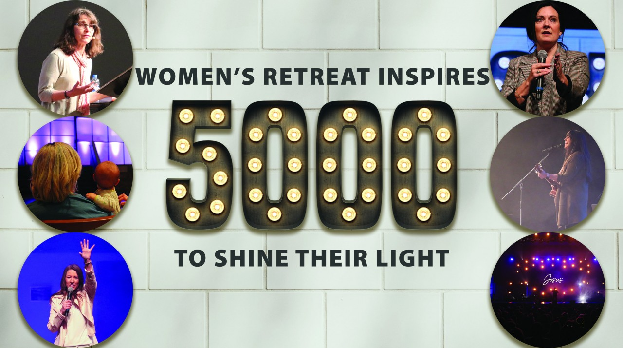 Women's Retreat inspires 5,000 to shine their light