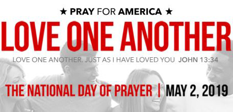 Love One Another' nationwide prayer plea May 2
