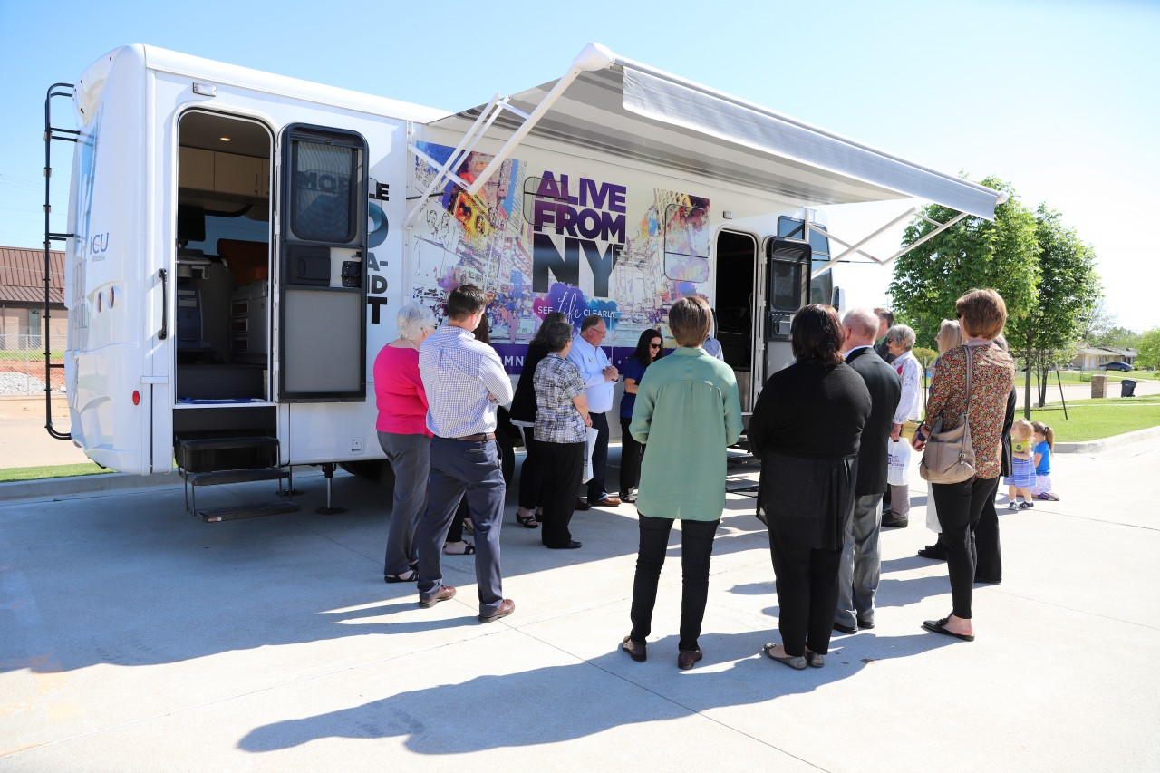 Focus on the Family visits Hope Pregnancy Center on national mobile tour