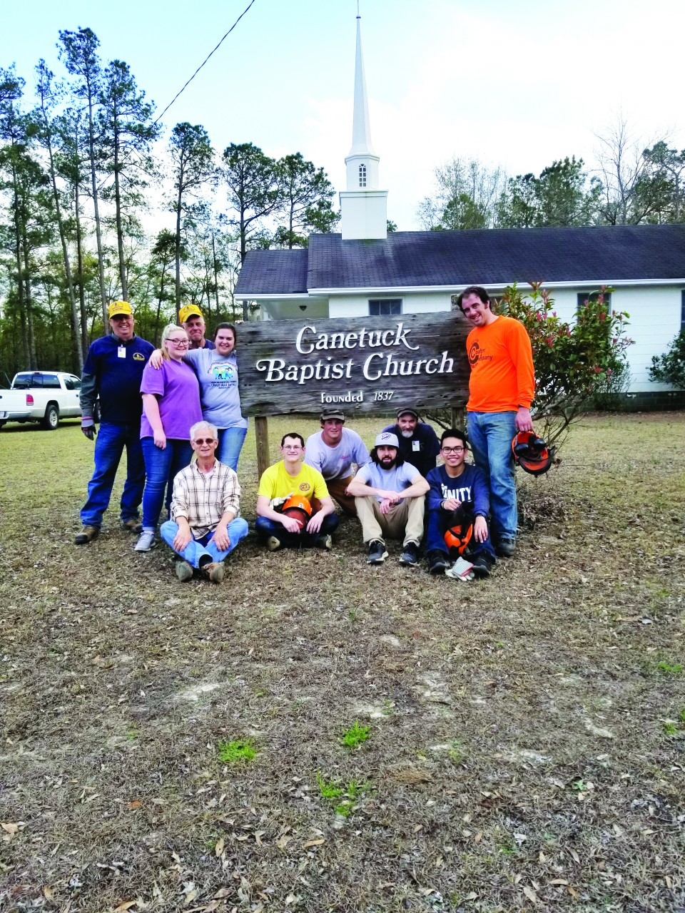 Tulsa Metro BCM serves with DR in N.C.