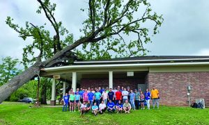 'The Mailman' Karl Malone aids tornado-battered chapel - Baptist Messenger of Oklahoma