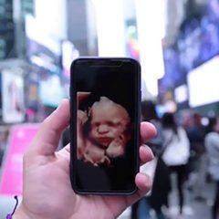 'Alive from New York':  Pro-lifers rally in Times Square