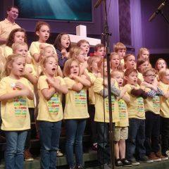 'Hymns & M's': Kids choir learning hymns by heart at OKC church