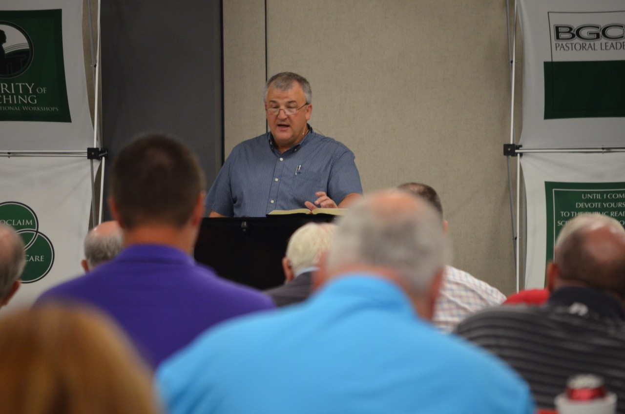 Oklahoma Bible Conference featured 'pastors teaching pastors' - Baptist Messenger of Oklahoma